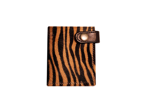 LUX WALLET (BABY TIGER PONY HAIR)
