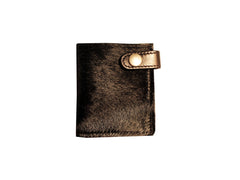 LUX WALLET (BLACK PONY HAIR)