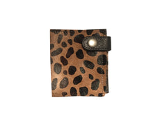 LUX WALLET (CHEETAH PONY HAIR)