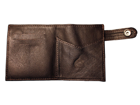 LUX WALLET (DARK BROWN)