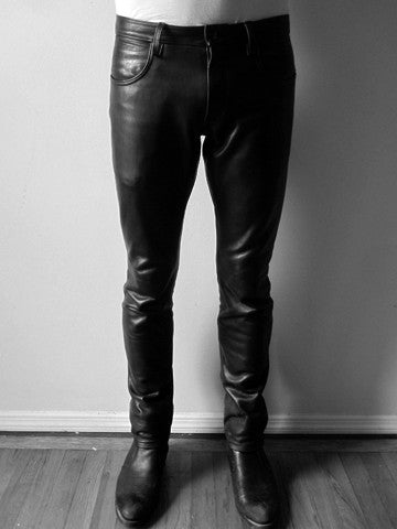Men's Leather Pants