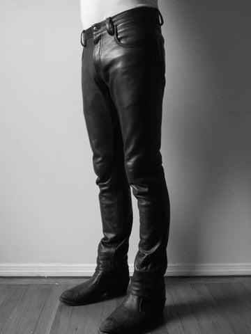 Men's Leather Pants – THE CAST
