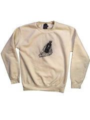 Bottoms Up Crewneck (Bone White)