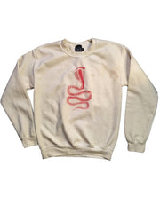 Cobra Crewneck (Bone White)