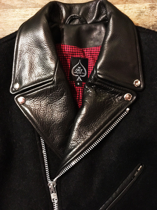 MEN'S RIVINGTON JACKET Wool + Leather