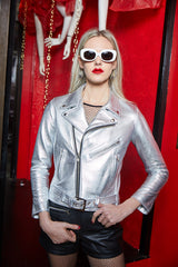 BOWERY JACKET (Metallic Silver)