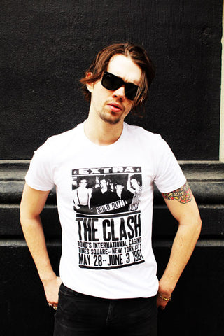 The Clash (White)