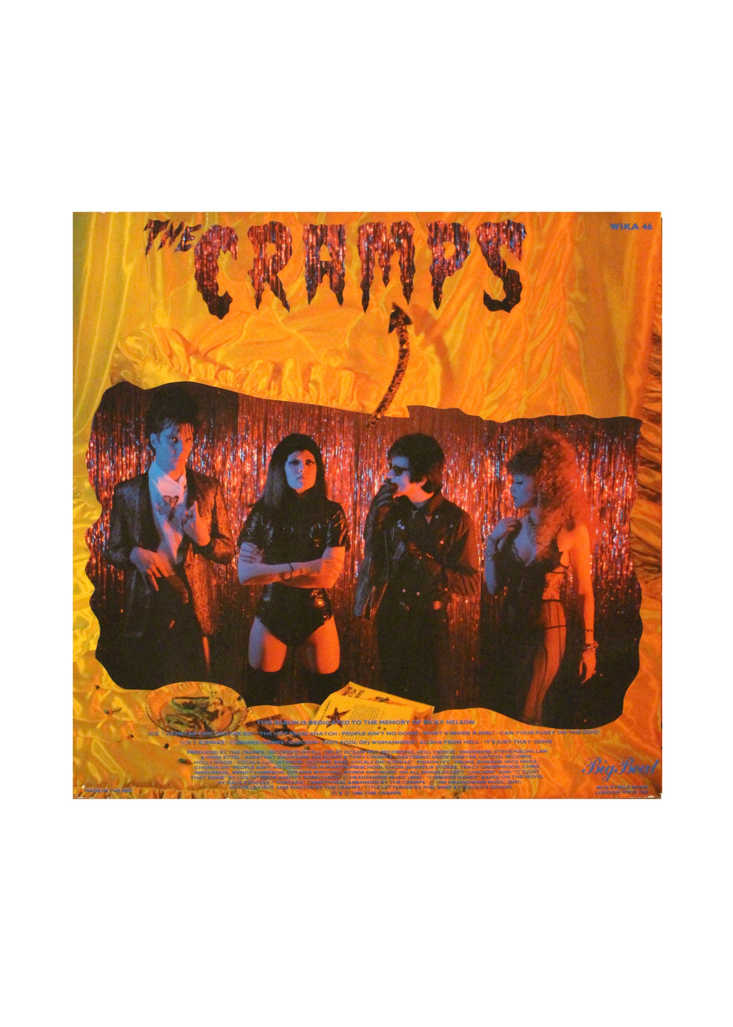 The Cramps - A Date With Elvis - LP