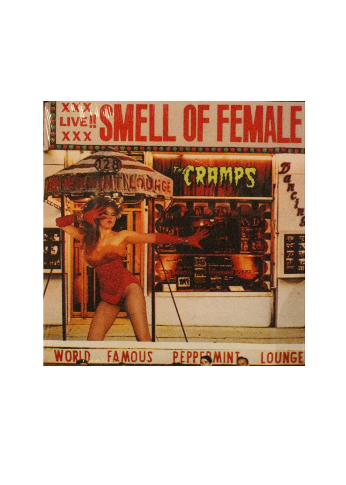 "The Cramps - Smell Of Female - 12"" LP"
