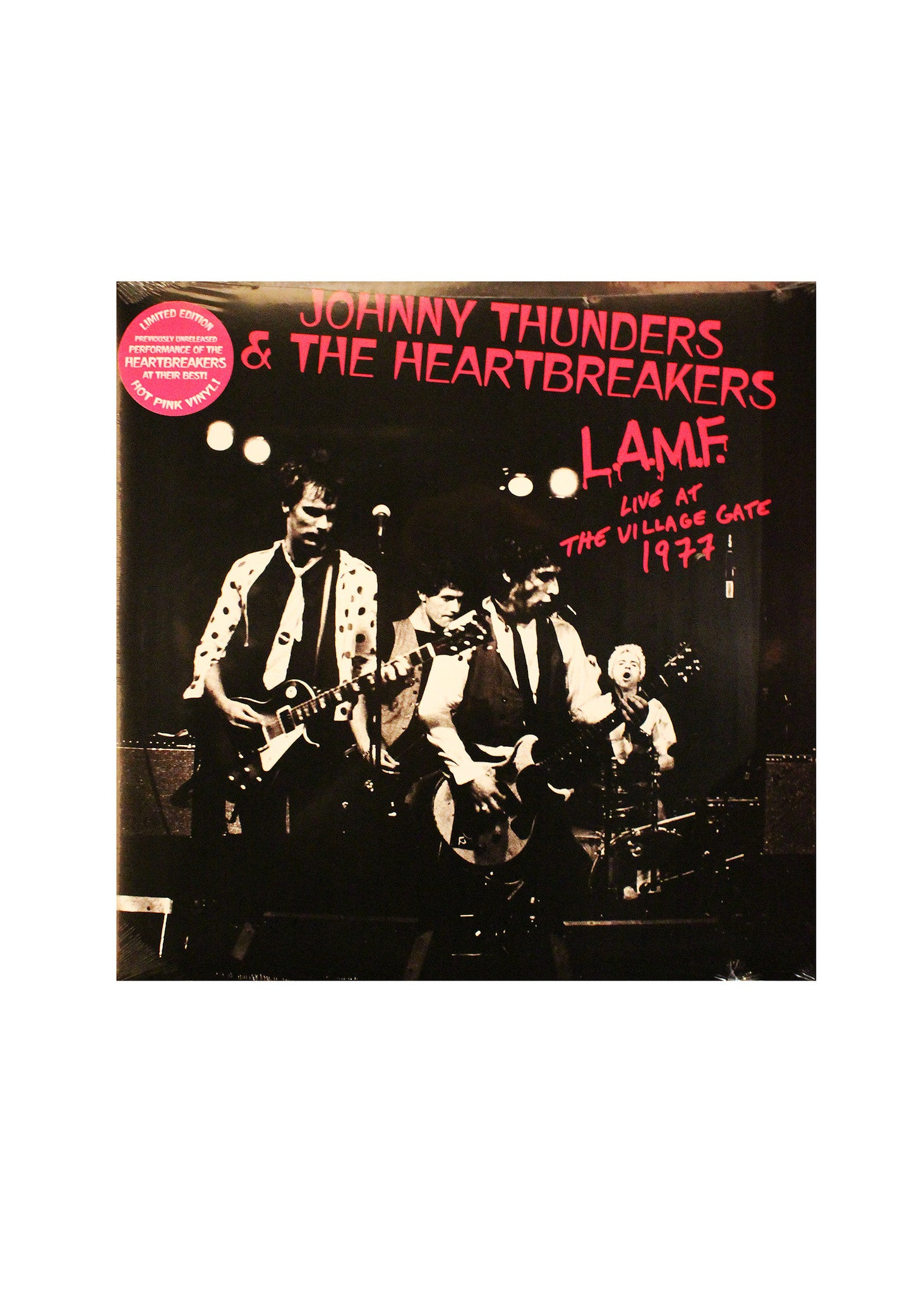"Johnny Thunders & The Heartbreakers - L.A.M.F. Live At The Village Gate 1977 (12"" LP)"