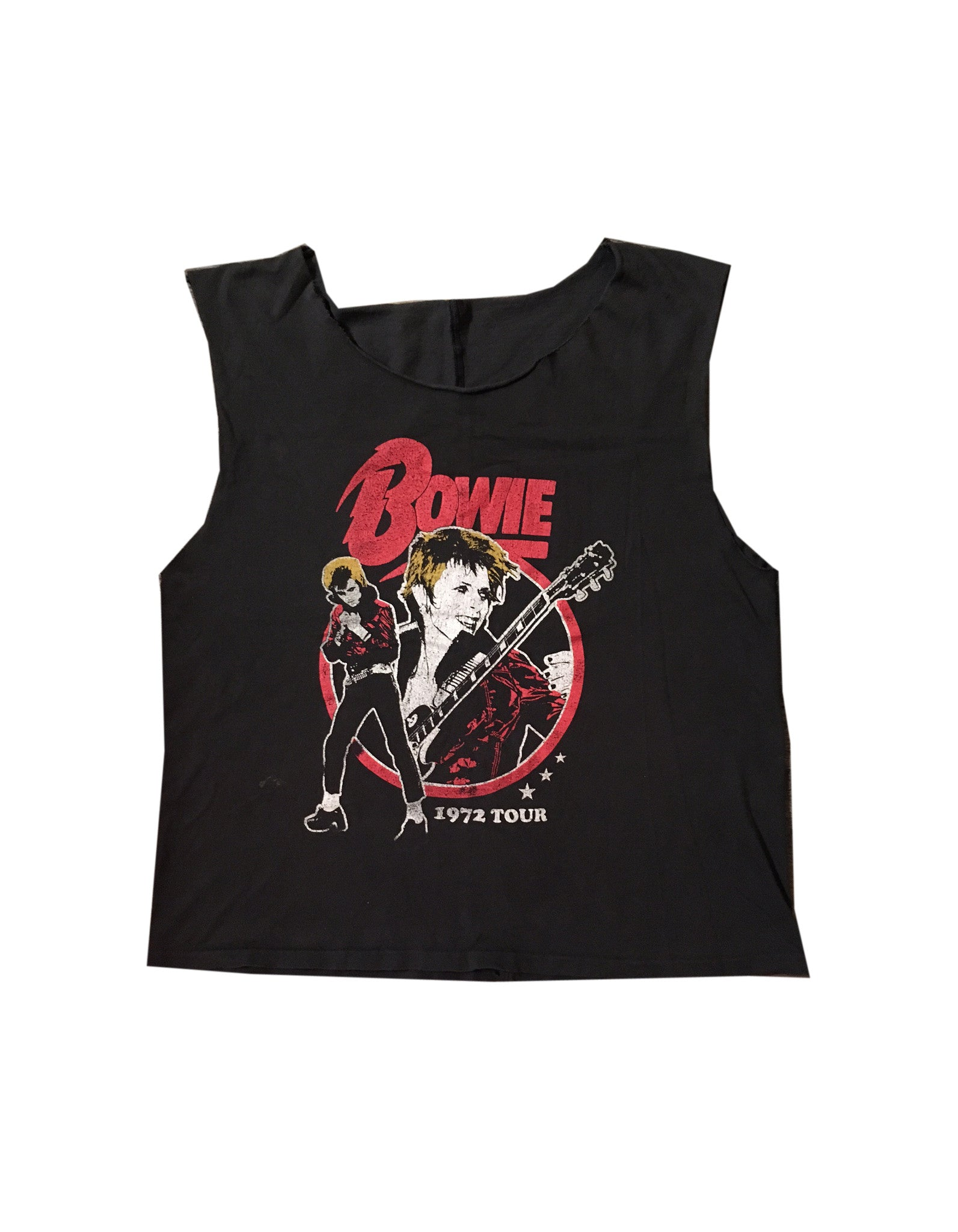 Vintage David Bowie 1972 Tour T