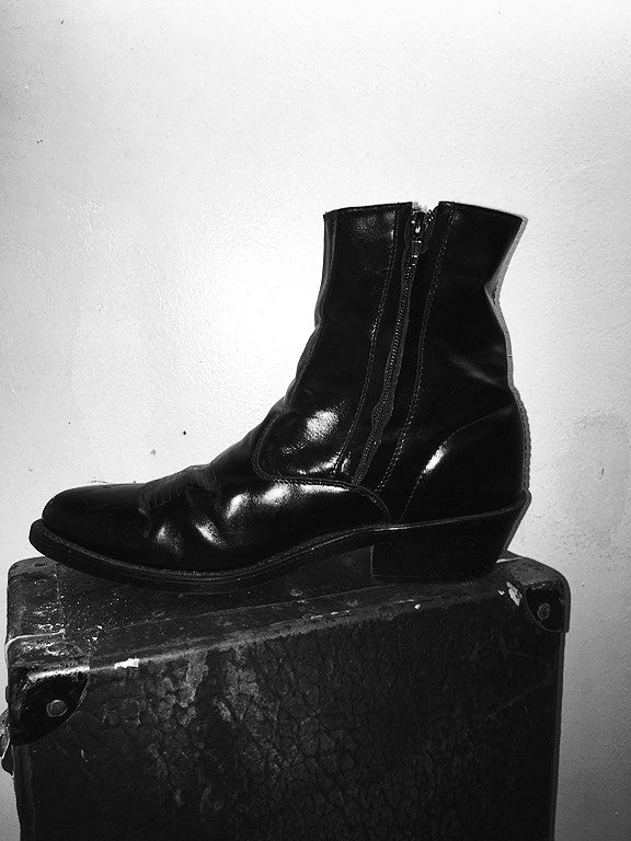 Vintage Laredo Ankle Zip Boots (Size 9)