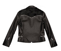 JOHNNIE JACKET - with Rivet Details