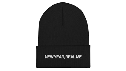 NEW YEAR, REAL ME BEANIE