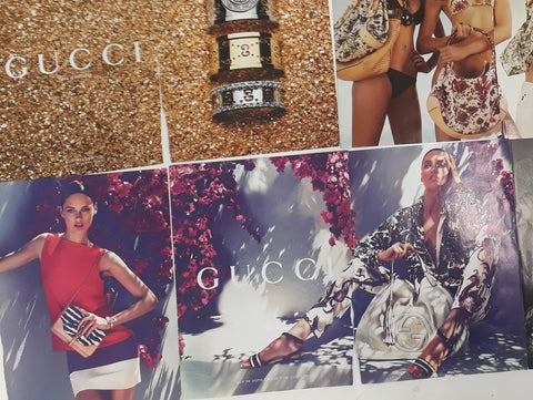 example of gucci ads