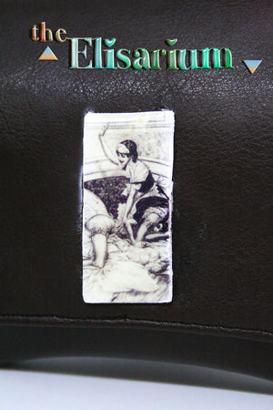Retro Erotica illustration Tobacco pouch