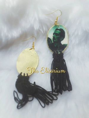 Dali & Gala tassels earrings