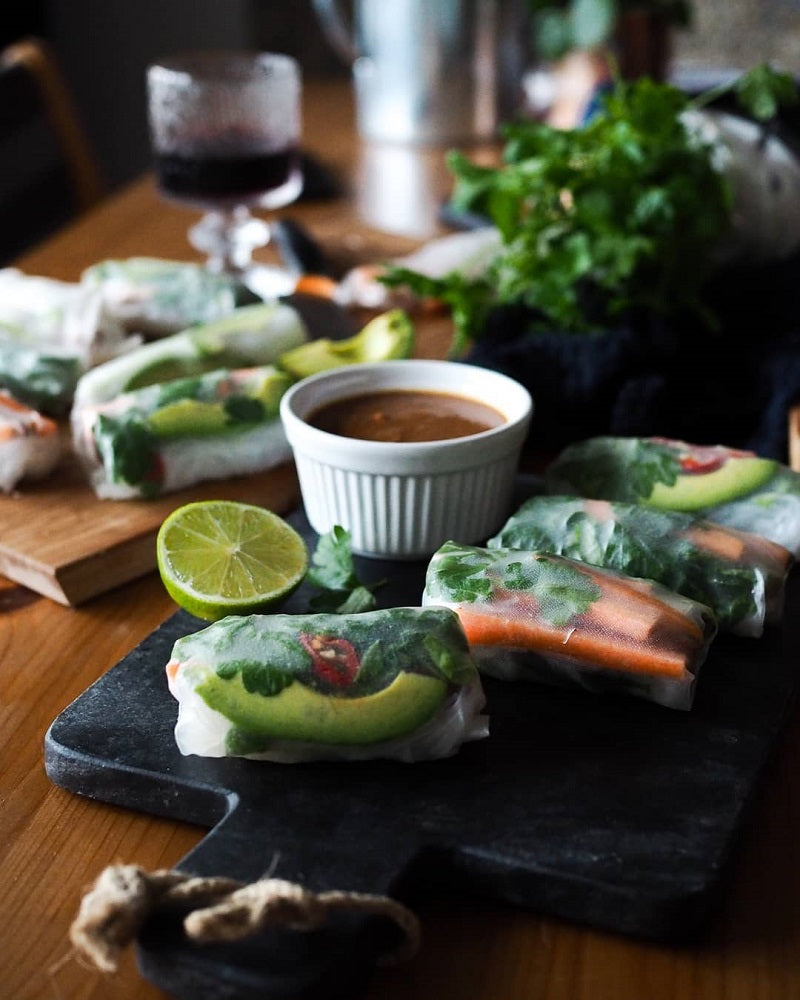 Summer Rolls With Avocado