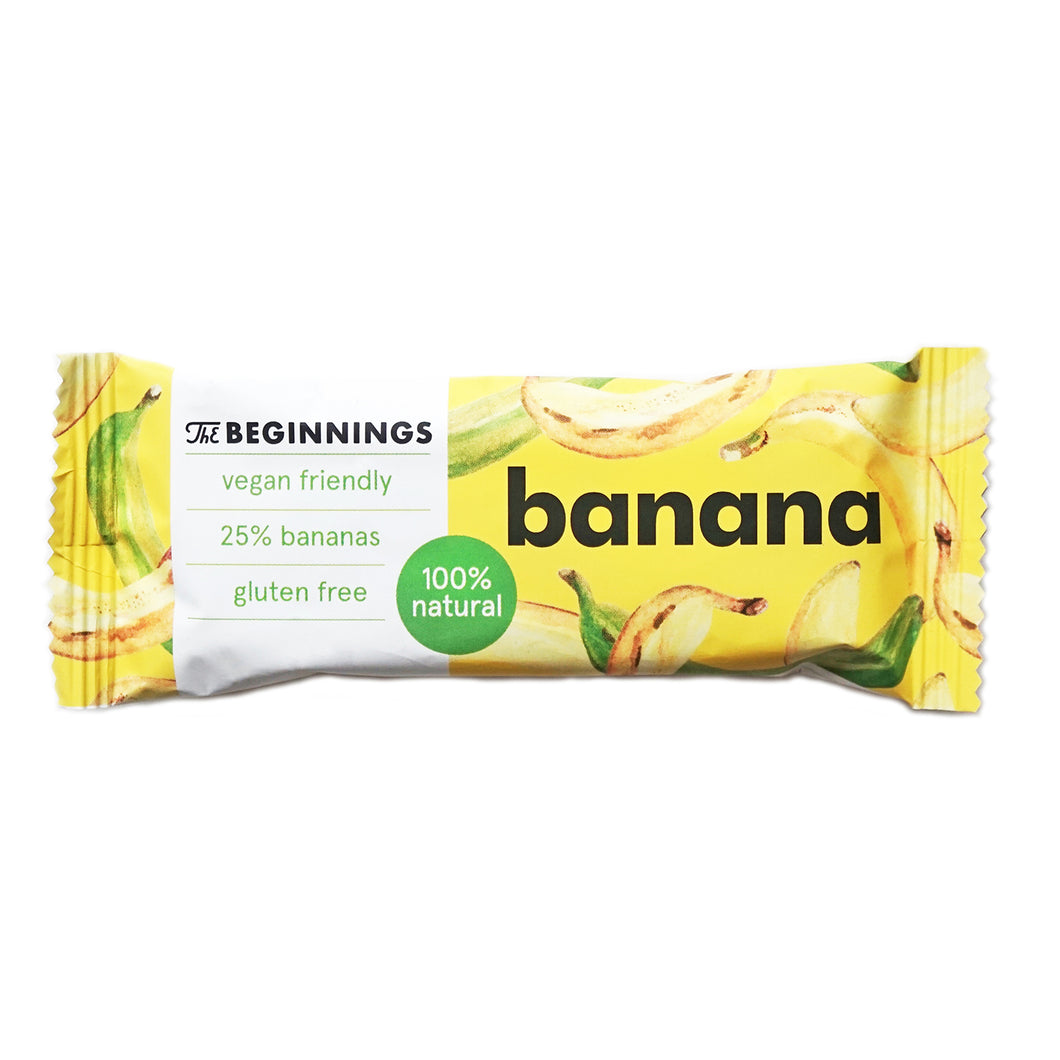 Banana bar (box of 20 / 30 x 40g)