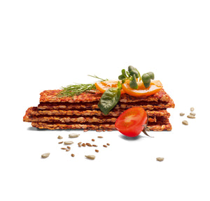Tomato Crisp Bread (box of 5 / 10 x 80g)