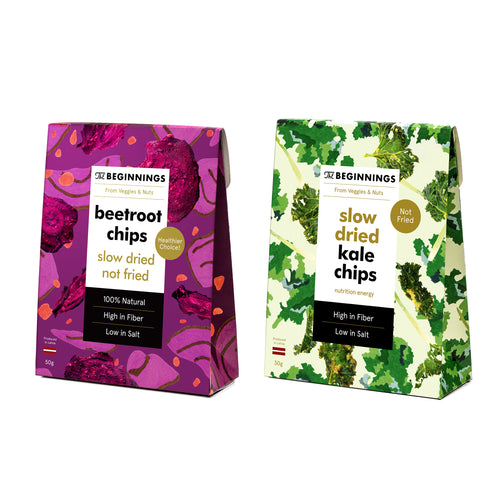 Veggie Chips MIX BUNDLE (box of 4 / 8 x 50g)