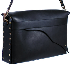 Full Grain Leather Satchel - Large