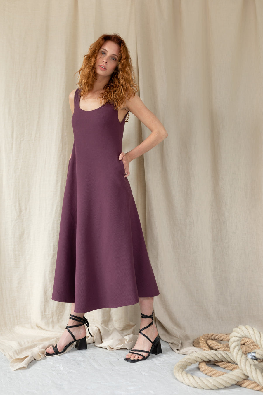 Loosen Up Maxi Dress