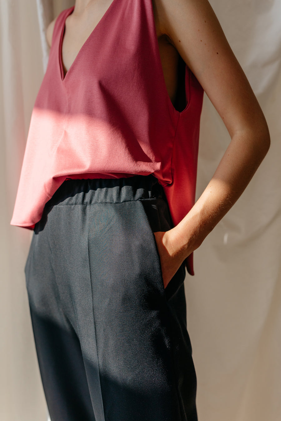 Be The Boss Wide Leg Trousers