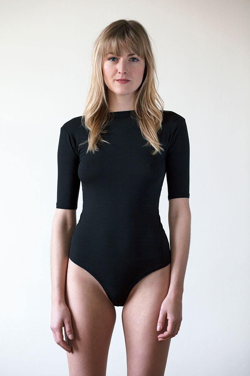 Be Yourself Open Back Bodysuit
