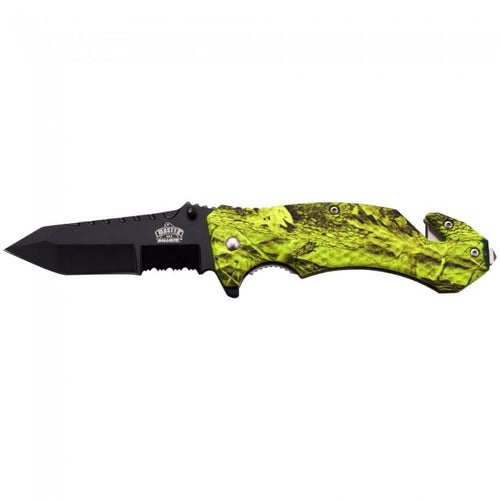 Tough 1® Camouflage Rescue Knife