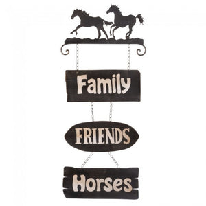 Horses Sign Family/Friends/Horses