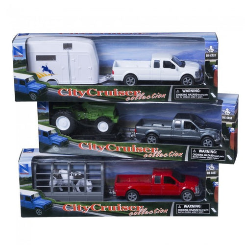 Truck and Trailer 3 Pack