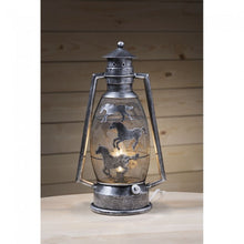 Load image into Gallery viewer, Silver Western Cutout Lantern