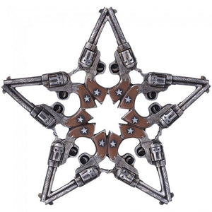 Plaque Gun Star