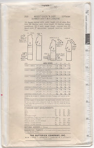 "1960's Butterick Shift Dress in 4 Lengths - Bust 32"" - UC/FF - No. 2920"
