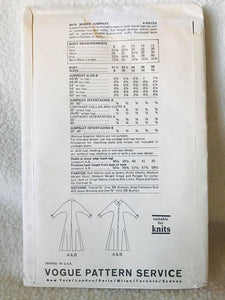 "1970's Vogue Jumpsuit with very wide legs and dolman sleeves - Bust 36"" - No. 8415"