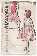 1960's Advance Girl's One Piece Summer Dress and Jacket - 8yrs - UC/FF - No. 9842