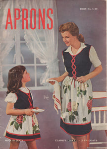 E-Book 1945 Aprons Booklet by Clark's - OOP - PDF Download