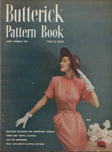E-Book 1950 Butterick Patterns Early Summer Home catalogue - Digital Download