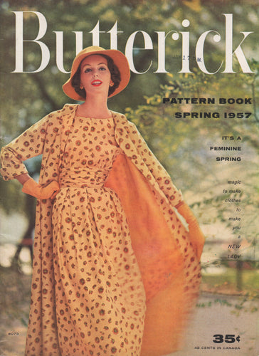 E-Book 1957 Butterick Patterns Spring Home catalogue - PDF Download