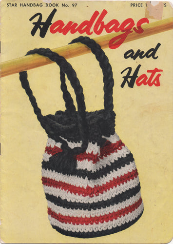 1950's Star Handbags & Hats Crochet Booklet
