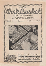 Complete set of 1941 Workbasket Magazines