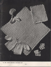1940's Jack Frost Knitting and Crochet Baby Book - V. 60