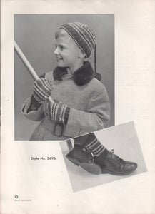 1955 Bernat Handicrafter - Accessories for Children - No. 46
