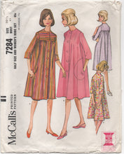 "1960's McCall's Robe in Two Styles Pattern - Bust 41"" - No. 7284"