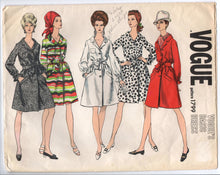 "1960's Vogue One-Piece Dress with Belt and Pockets Pattern - Bust 38"" - No. 1799"