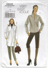 2007 Vogue Tunic and pants pattern - Size 16-18-20-22-24 - No. V8433 - UC/FF
