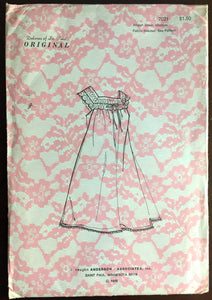 1970's Nightgown pattern - Size: Medium - No. 7021
