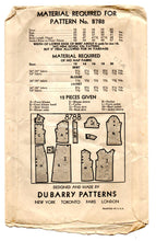 "1930's DuBarry Blouse, Slim Skirt and Jacket Pattern - Bust 30"" - No. 878B"