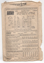 "1940's Advance Princess cut One Piece Dress, Smock or House Coat Pattern - Bust 34"" - No. 2103"